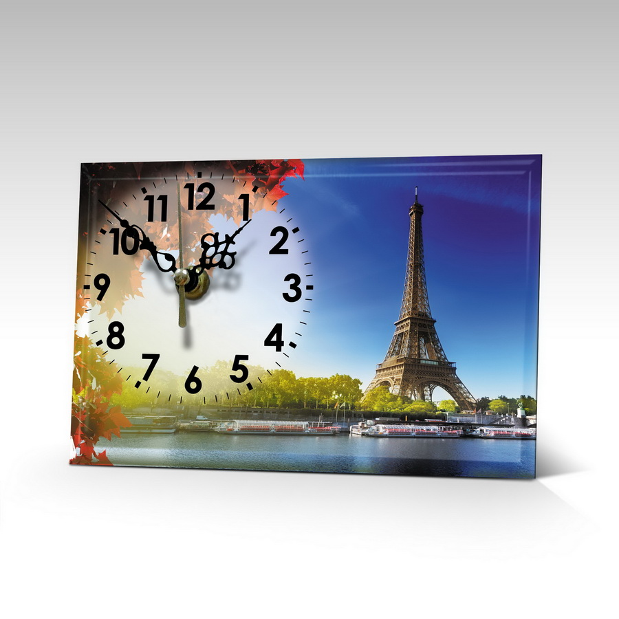 """Винтажные часы """"Париж"""""""