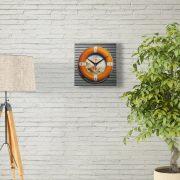 """3D подарок часы """"Спасательный круг"""""""