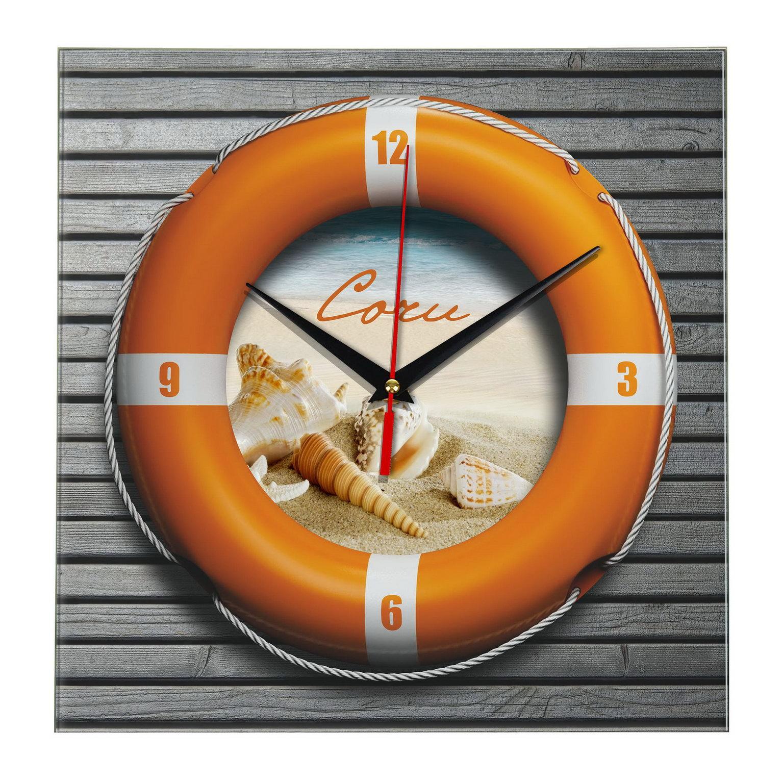 3D подарок часы «Спасательный круг»