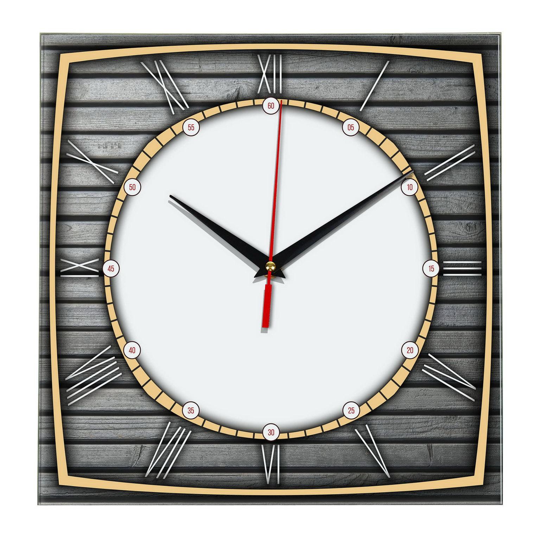 Настенные часы «Круг-квадрат»
