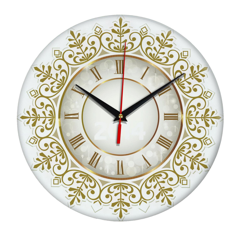 Настенные часы «Снежинка»