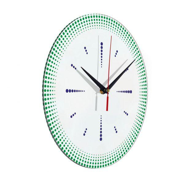 "Настенные часы ""Точечная роспись"""