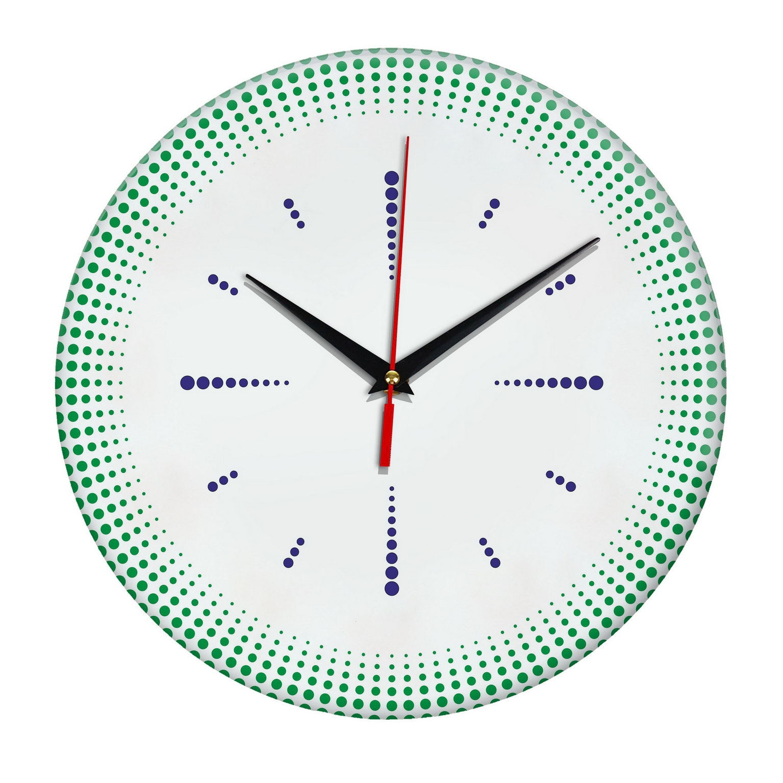 Настенные часы «Точечная роспись»