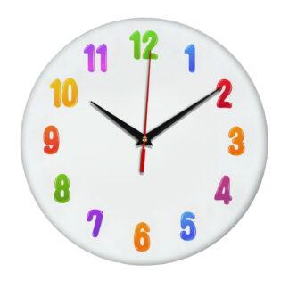 Детские настенные часы «Яркие цифры»