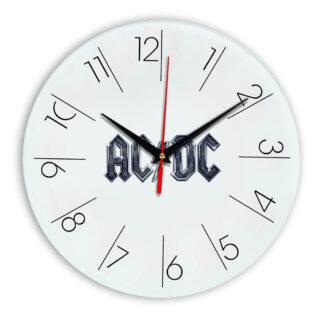 Acdc настенные часы 6