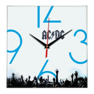 Acdc настенные часы 8