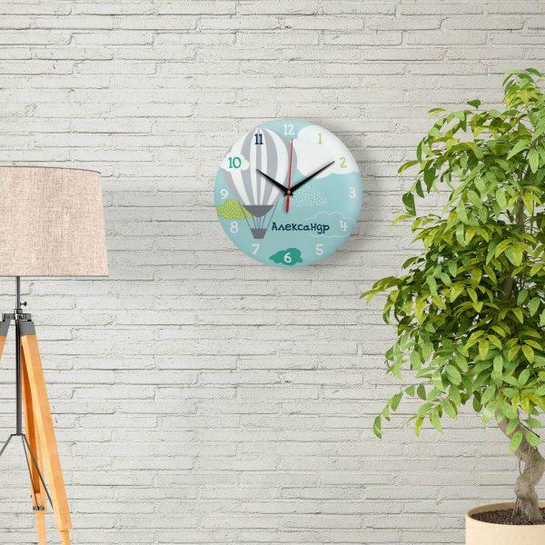 Подарок именной - Настенные часы с именем Александр