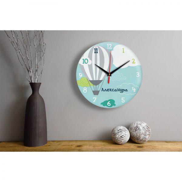 Подарок именной — Настенные часы с именем Александра