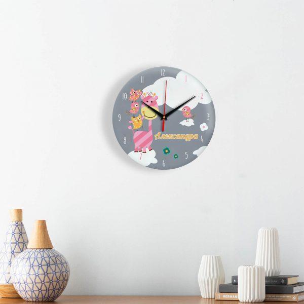 """Часы персонализированные """"Александра"""""""