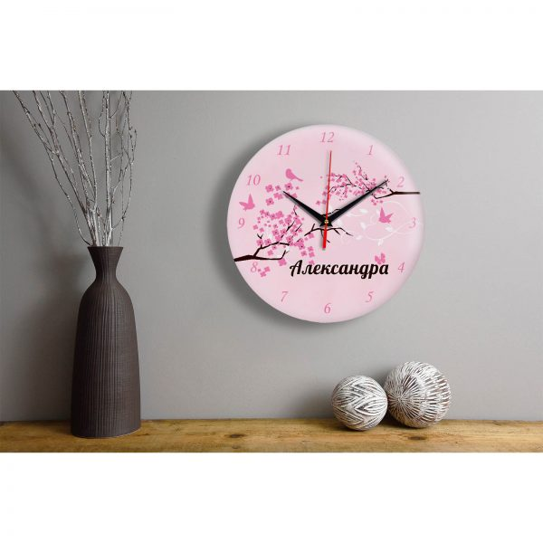 """Часы - именной подарок """"Александре"""""""
