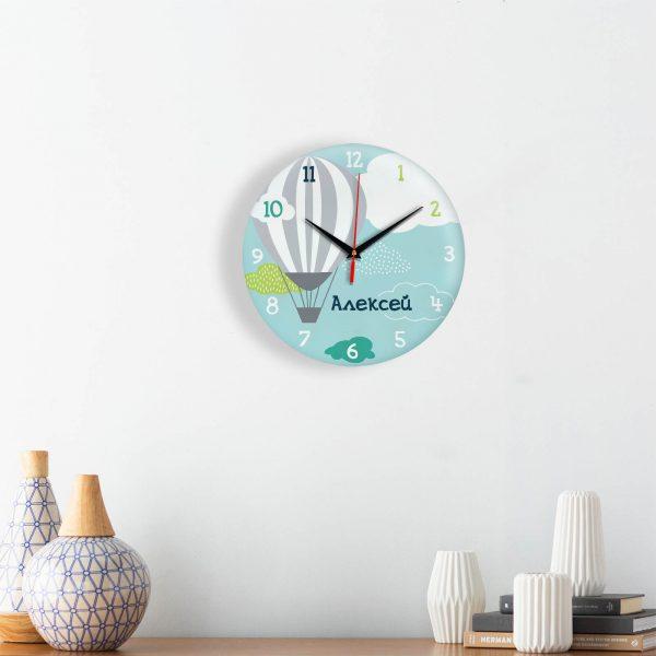 Подарок именной — Настенные часы с именем Алексея