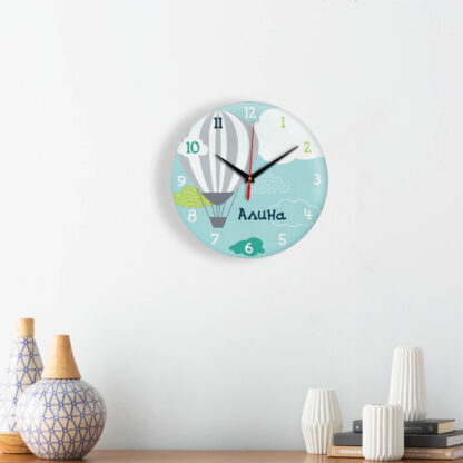 Подарок именной — Настенные часы с именем Алина