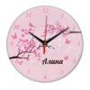 """Часы - именной подарок """"Алина"""""""