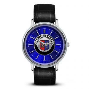 Alpina наручные часы со значком