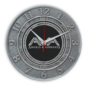 Angels and airwaves настенные часы 1
