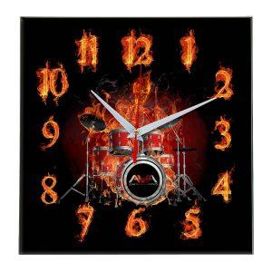 Angels and airwaves настенные часы 10