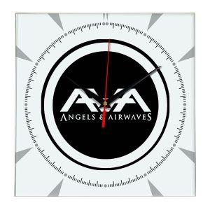 Angels and airwaves настенные часы 2