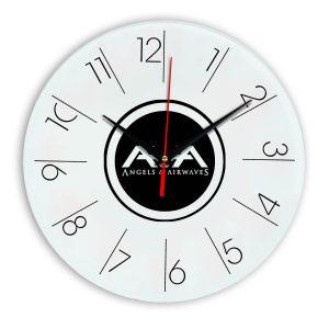 Angels and airwaves настенные часы 6