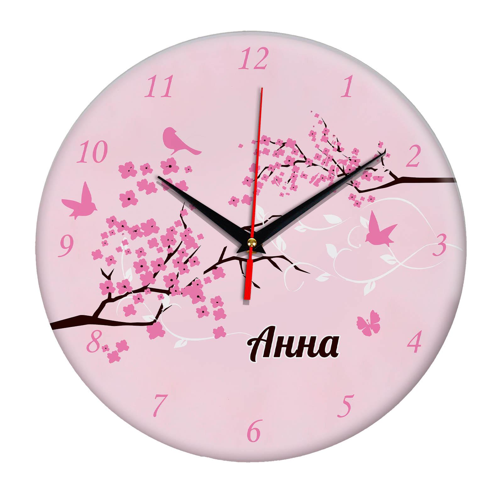 """Часы - именной подарок """"Анна"""""""