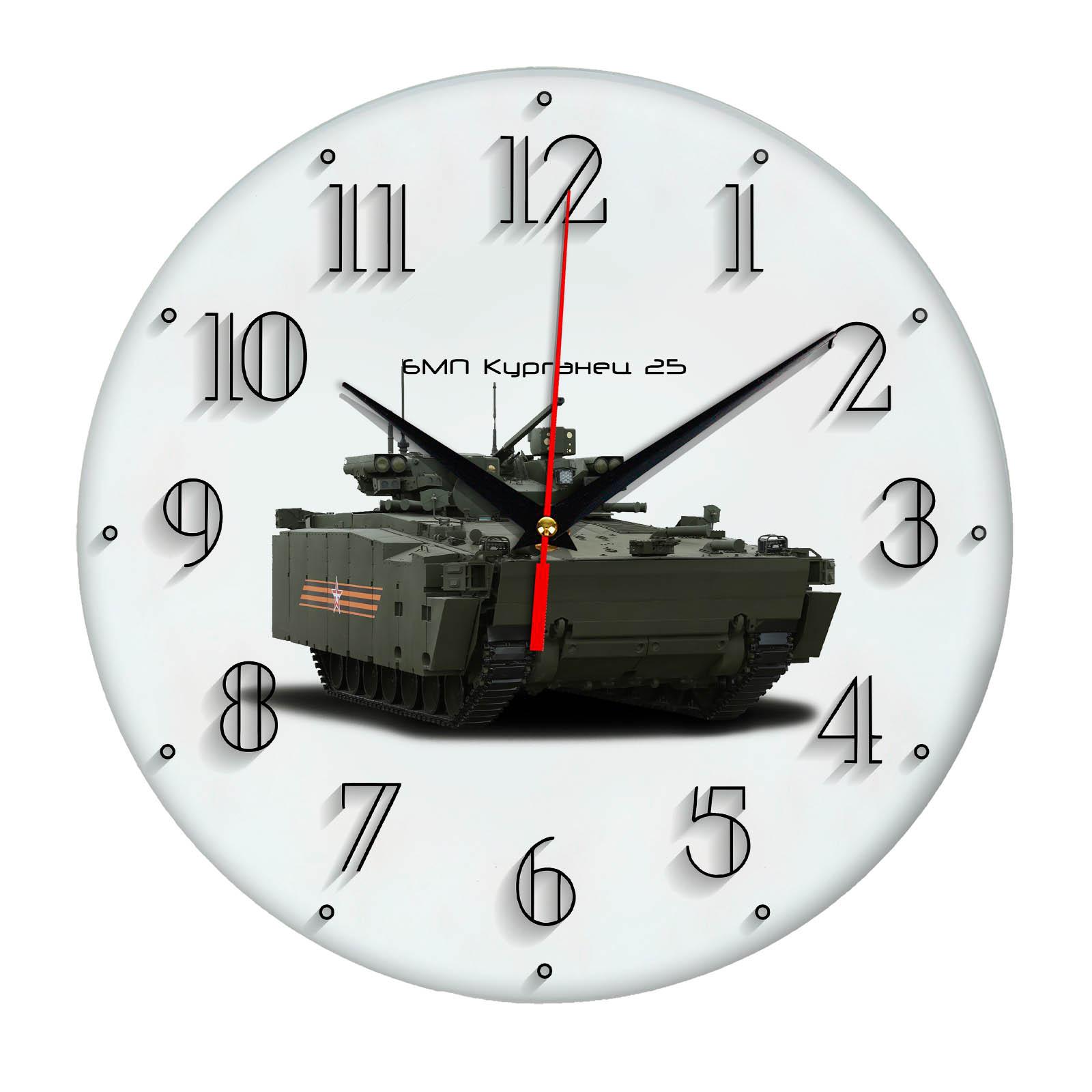 часы-сувенир «БМП Курганец 25» Армия России 15