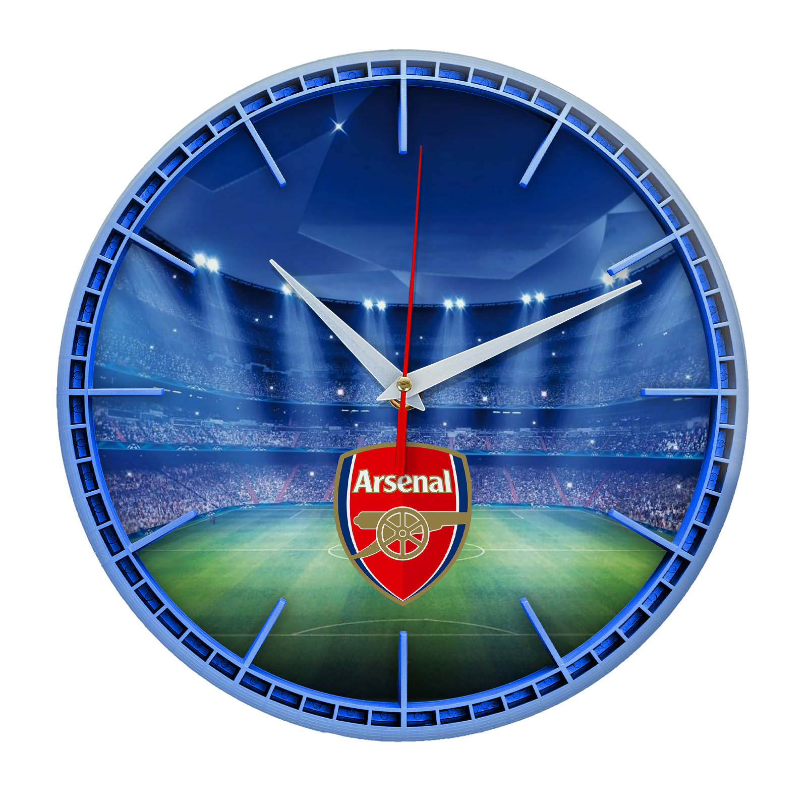 Настенные часы «Сувенир для фаната ARSENAL»