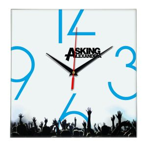 Asking alexandria настенные часы 8