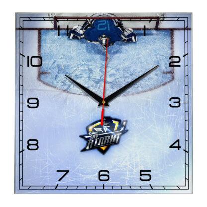 Настенные часы Вратарь на льду ХК Атлант Московская область