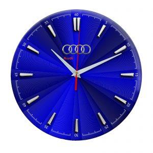 Сувенир – часы Audi 4 12