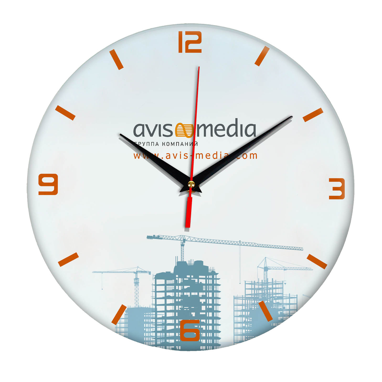 Настенные часы «avis_media»