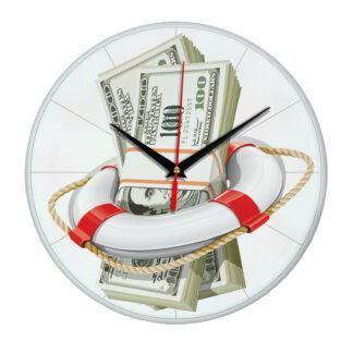 Настенные часы «Антикризисные»