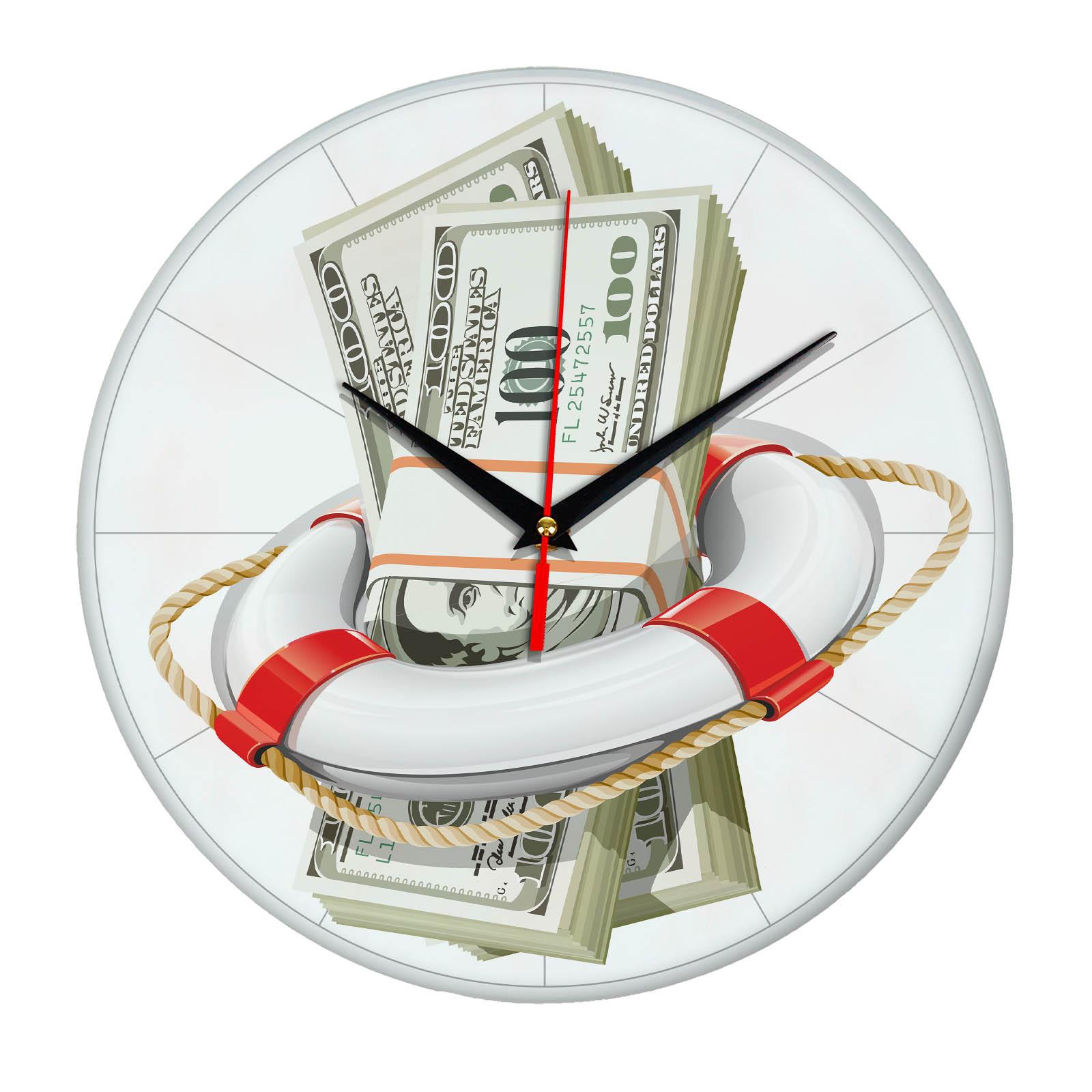 Настенные часы «Антикризисные» b0013