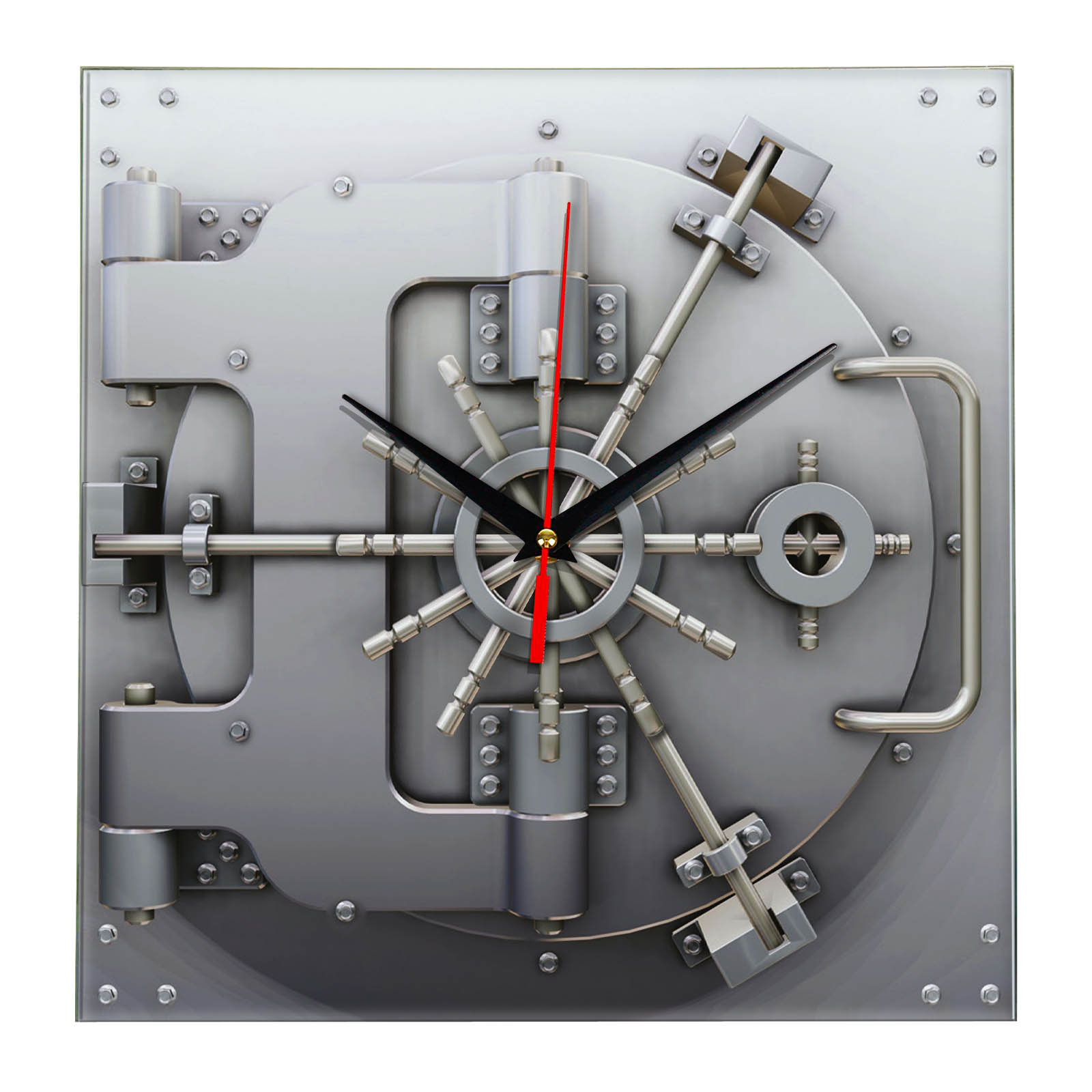 Настенные часы «Сейф»