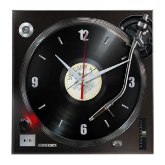 Настенные часы «Проигрыватель Vynil Glass»