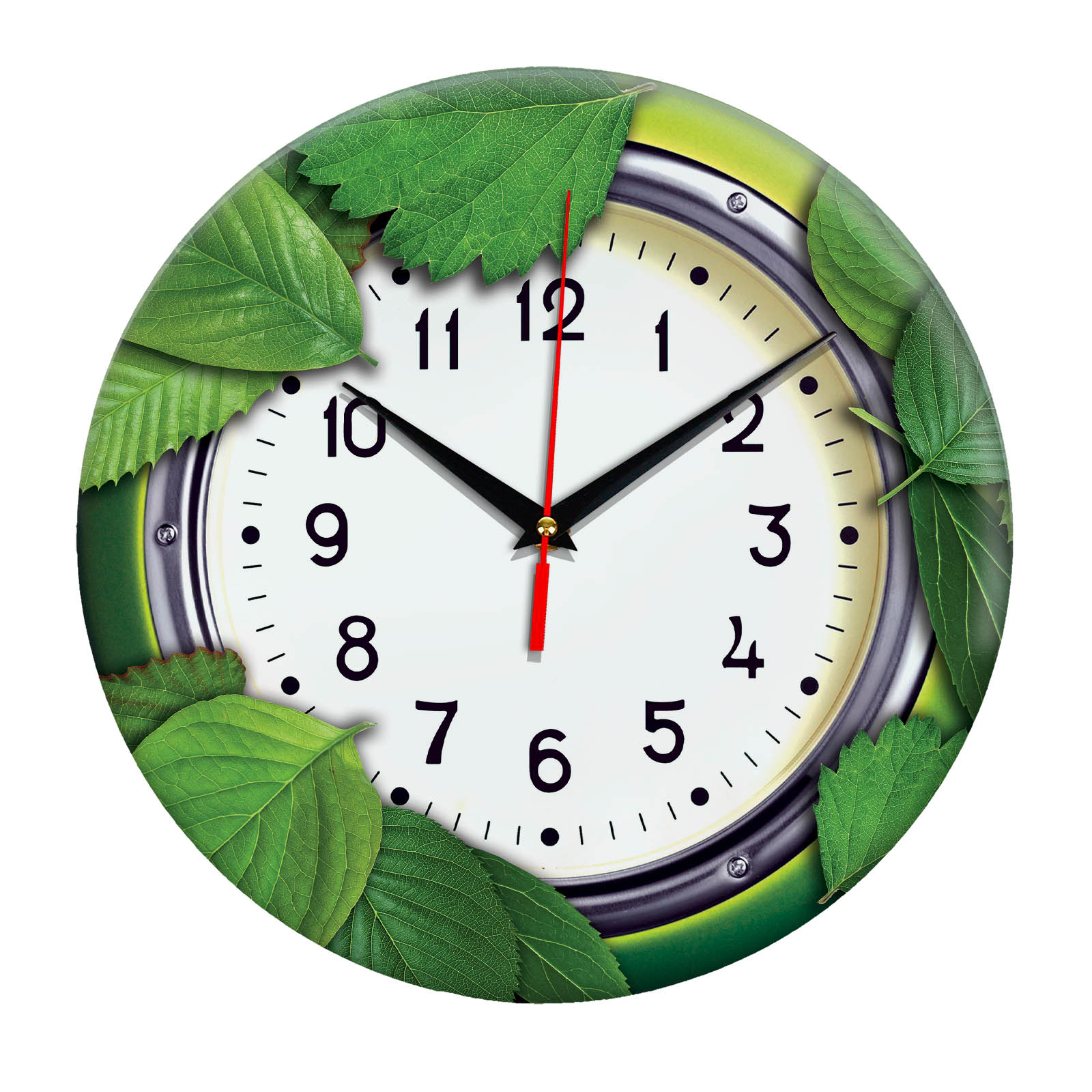Настенные часы «Листва»