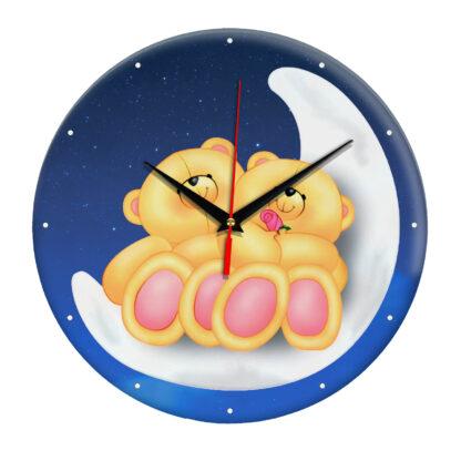 Настенные часы «Любовь на луне»