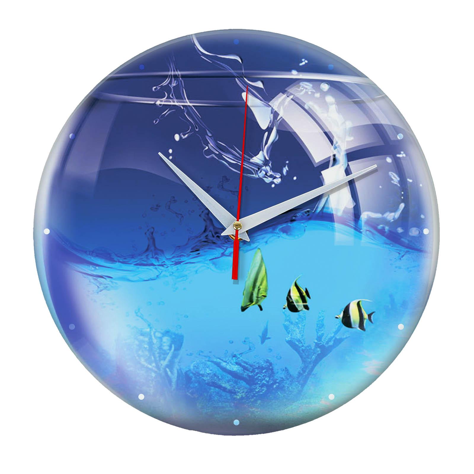 Настенные часы «Аквариум»