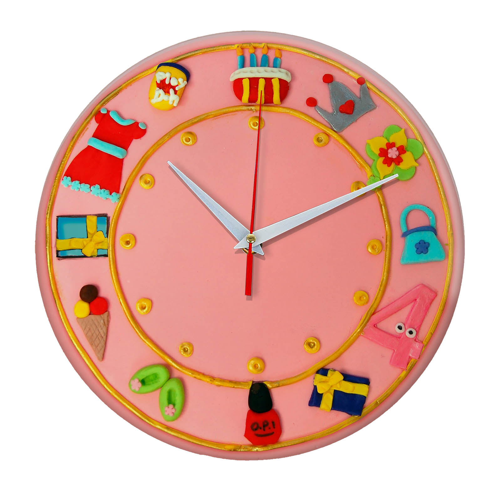 Часы настенные «Торт»