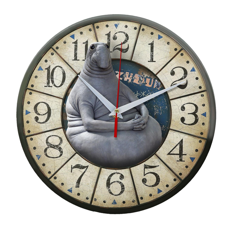 Настенные часы Ждун Zhdun vintage