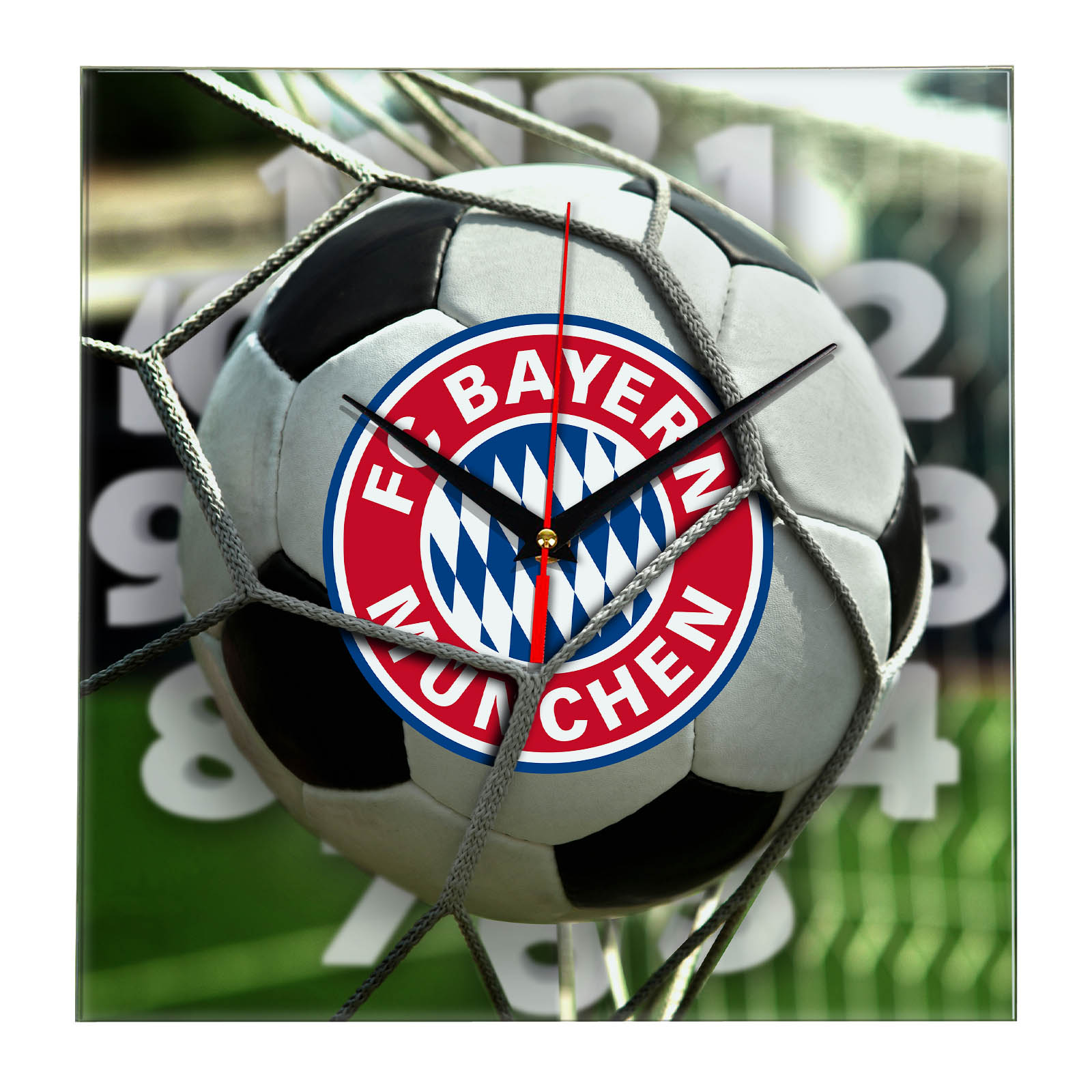 Настенные часы «С логотипом BAYERN MUNCHEN»