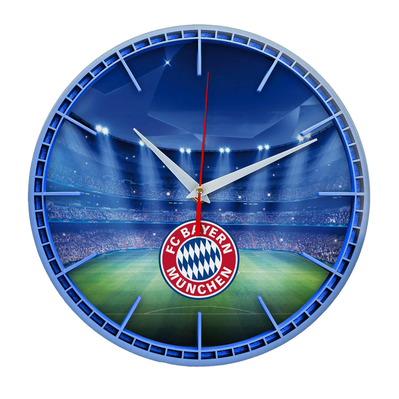 Настенные часы «Сувенир для фаната BAYERN MUNCHEN»