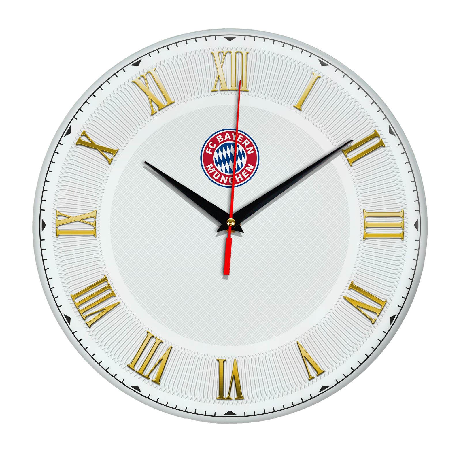 Настенные часы «Футбольный клуб BAYERN MUNCHEN»
