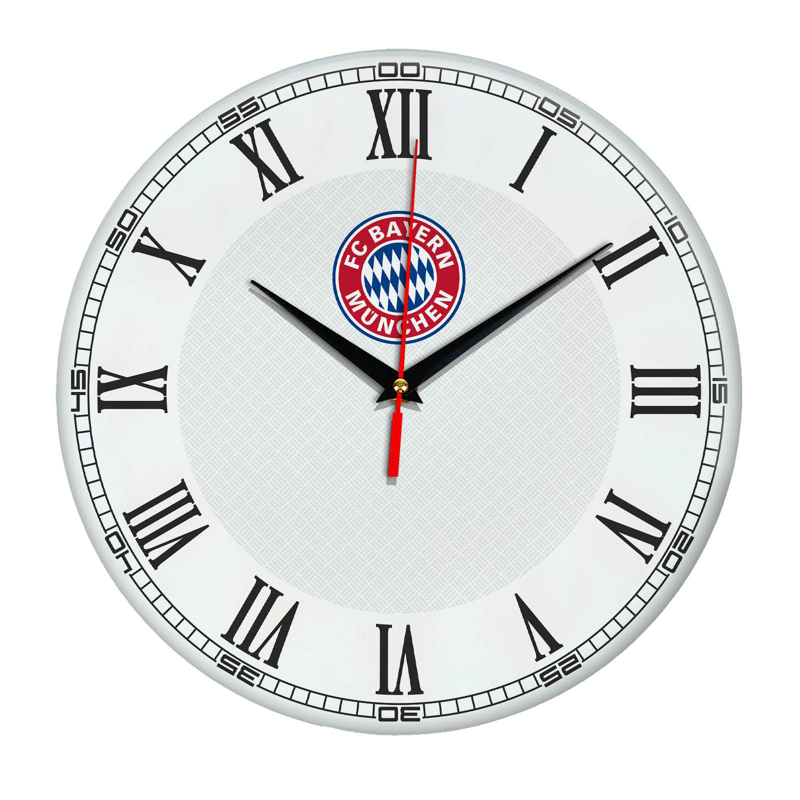 Настенные часы «с символикой BAYERN MUNCHEN»