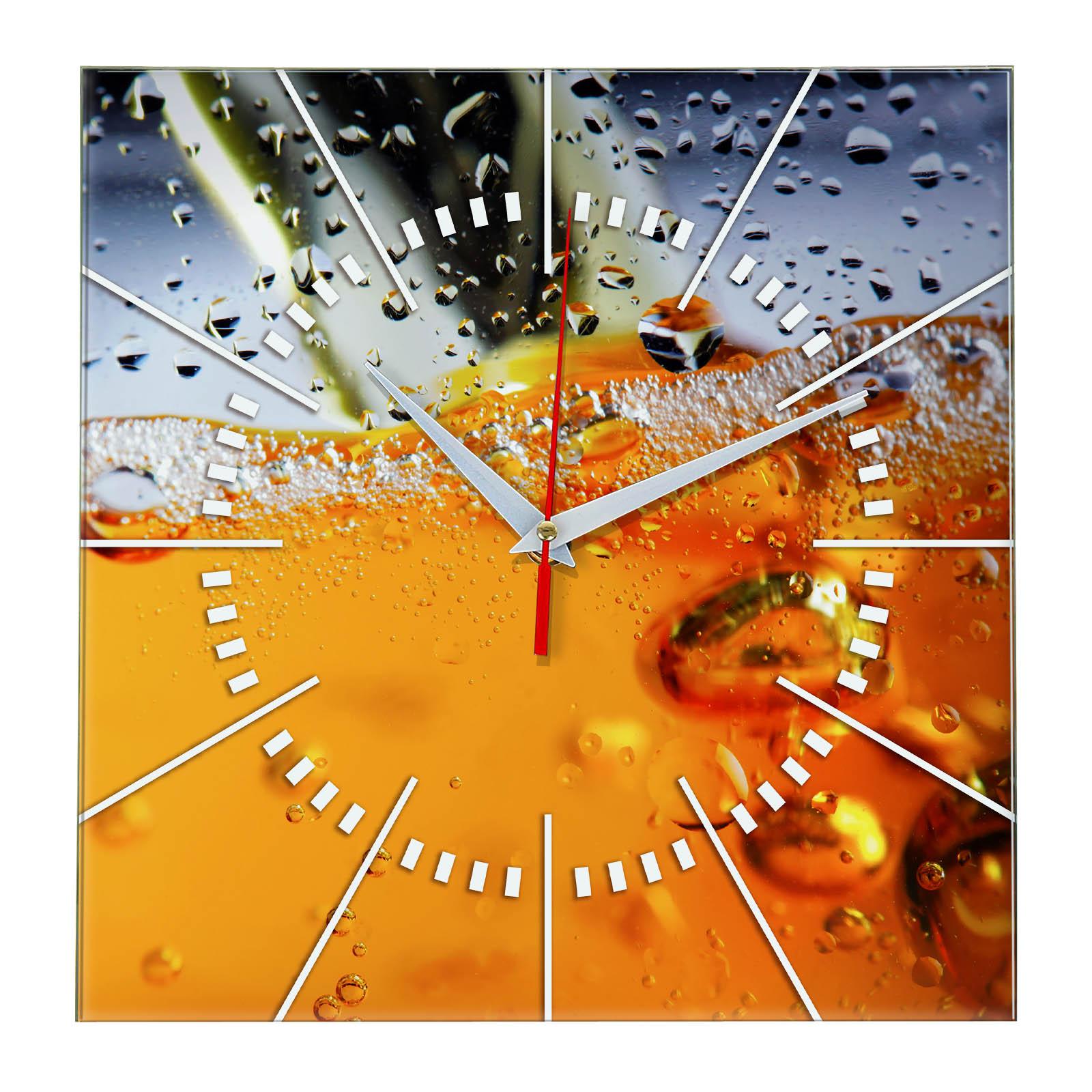 Часы с пивом «До краев»