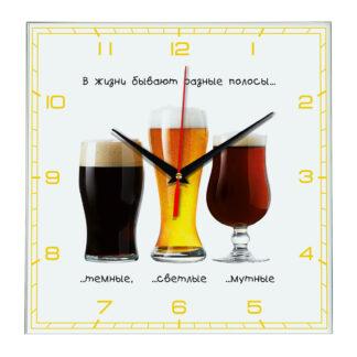Часы настенные «Пиво прикол»