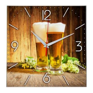 Настенные часы «Хмельной напиток»