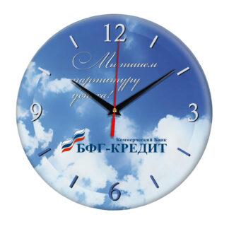Настенные часы «bfg-bank»