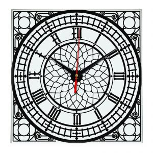 Часы в стиле циферблата Биг- Бэн