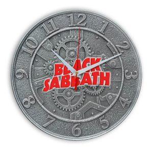 Black sabbath настенные часы 1