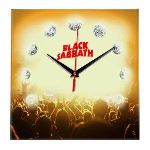 Black sabbath настенные часы 12