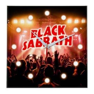 Black sabbath настенные часы 13
